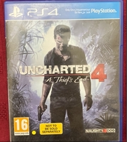Used Uncharted 4: A Thief's End for PS4 in Dubai, UAE