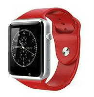 A1 Smart watch with SIM support - Red