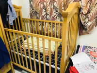 Used Price reduced Ikea Baby wooden crib cot in Dubai, UAE