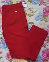 Used Mens jeans - Red by Lactose in Dubai, UAE