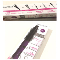 Used NEW 4-IN-1 Ionic Styler Color Purple  in Dubai, UAE