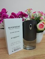 Used Givenchy silver men perfume in Dubai, UAE