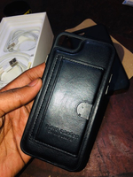 Used Iphone 6/6s/7/8 Leather Case Original  in Dubai, UAE