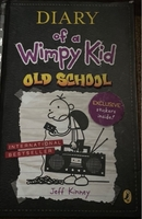 Used Diary of a wimpy kid:old school  in Dubai, UAE