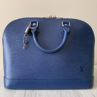 Used Louis Vuitton Alma PM Epi leather Indigo in Dubai, UAE