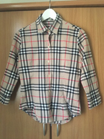 Used Authentic Burberry top plus jacket in Dubai, UAE