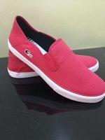 Used LACOSTE 🐊RED SHOES ORIGINAL SIZE 46 in Dubai, UAE