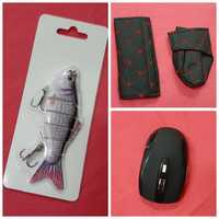Wireless mouse +lures +gear shift collar