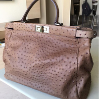Used Fendi Ostrich Light Brown in Dubai, UAE