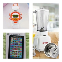 Used 3 in 1 blender + kids toy tab+kids watc in Dubai, UAE
