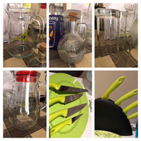 Used Bundle of jugs+glasses+knives new+used  in Dubai, UAE