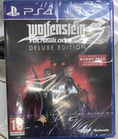 Used Wolfenstein Young Blood PS4 in Dubai, UAE