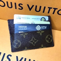 Used Upcycled (Original) LV cardholder in Dubai, UAE