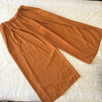 Used Mustard wide leg pants (free size) in Dubai, UAE