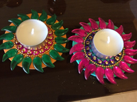 Used Diwali diyas 2pc for 15dh in Dubai, UAE