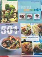 Used 4 diet cook books including Weight Watch in Dubai, UAE