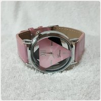 Geneve pink watch for lady.