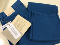 NEW LACOSTE Pants Slim Fit US 32 Blue