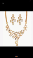 Used Necklace with earrings in Dubai, UAE