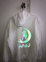 Used Sailor moon reflective hoodie  in Dubai, UAE
