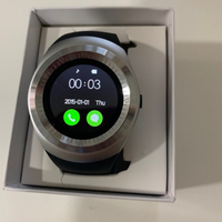 Used Y1 smart watch silver/black New in Dubai, UAE