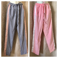 Used 2 sport pants size XXL pink & grey in Dubai, UAE