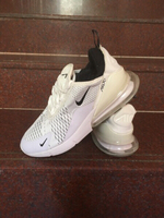 Used Nike AirMax white size 42, new in Dubai, UAE