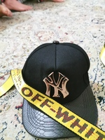 Used Off white belt and NY cap in Dubai, UAE