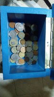 Used Coin collection box 60 coins in Dubai, UAE