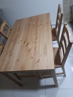 Used Table with four chairs from ikea in Dubai, UAE