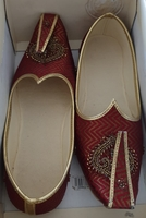 Used Indian shoes for male size 39 used once in Dubai, UAE