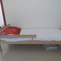Used Ikea single bed with mattress in Dubai, UAE