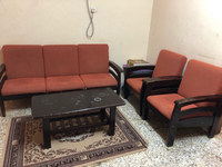 Used Bed, Sofa set, cupboard and small cot in Dubai, UAE