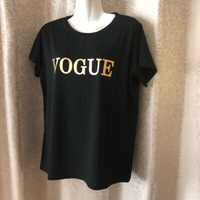 Used Woman T-shirt size 4xl new black  in Dubai, UAE