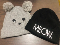 Adult Cat Beanies 🐱 2! From 🇨🇦