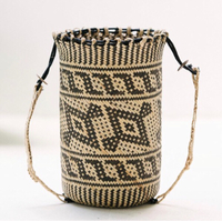 Used Bagpack Rattan Bag in Dubai, UAE