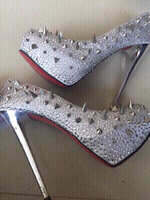 Used fiorina studded heels in Dubai, UAE
