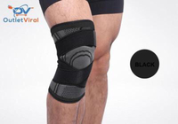 3D Knee Compression L/ Pair/ Geay-Black