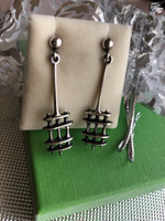 Sterling silver earring from Norway
