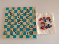 Used ELC Snakes & Ladders / Ludo Game Board in Dubai, UAE