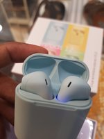 Used Blue Airpod new colour.. in Dubai, UAE