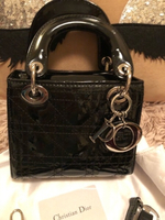 Used Mini bag with strap black in Dubai, UAE