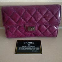 Used Chanel leather wallet. Not original in Dubai, UAE