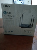 Used Dlink router AC1300 in Dubai, UAE