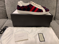 Used Authentic Gucci Ace sneakers s43 in Dubai, UAE