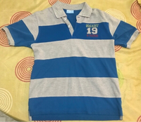 Used Children's Boys Blue and Maroon 2 shirts in Dubai, UAE