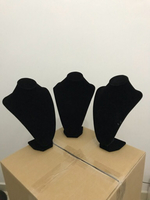 Used 3 piece HQ velvet jewelry stands  in Dubai, UAE