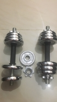 Used Dumbbell set 15kg each in Dubai, UAE