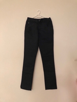 Used NEW Men's Black Pants Slacks Size 28 in Dubai, UAE