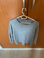 Used Zara, grey top in Dubai, UAE